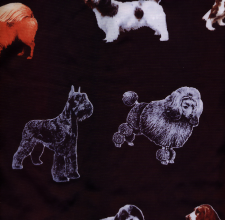 Black Breed Print