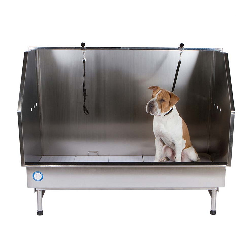 Flying Pig 61 5 Walk In Stainless Pet Tub Fp902c