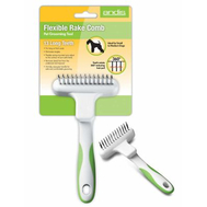 Andis Flexible Rake Comb for Small to Medium Dogs