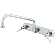 "T&S 8"" Wall Mount Faucet with 6"" Nozzle"