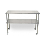 Groomers Best 60 Inch Stainless Table w/Locking Casters
