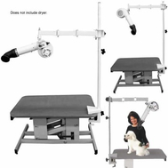 Edemco Table Mount Dryer Arm F3004TM Table Mount Dryer