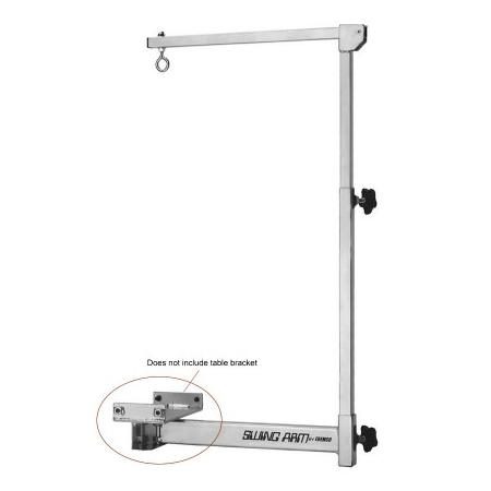 Edemco F921 Swing Arm Post, Knob & Bar Only