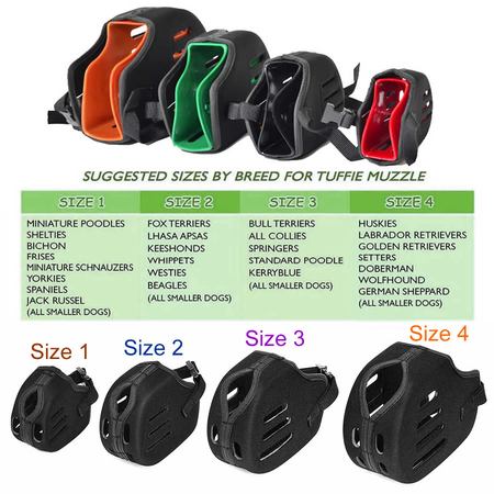 Proguard Newest Version Tough Tuffie Muzzles